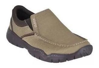 Zapatos Hombre Marron Crocs Swiftwater Casual Slip On