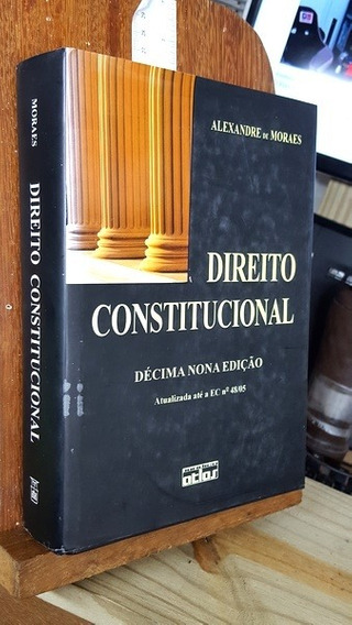 Direito Constitucional - 19ª Edição - Aleaxndre De Moraes