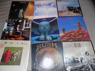 Rush, Eric Clapton, Johnny Winter, Lps Importados Y Nacional