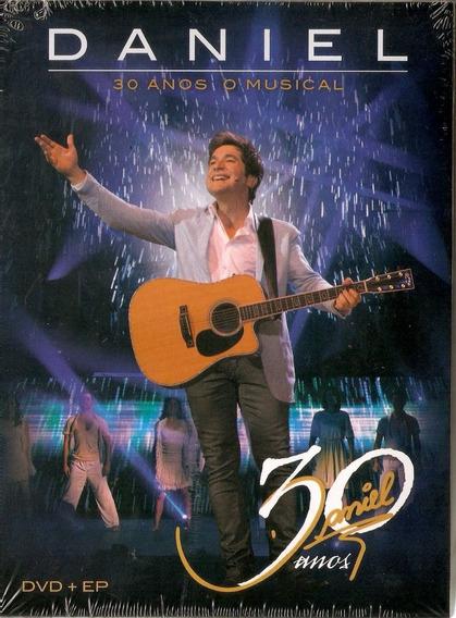 Dvd+ep Daniel 30 Anos O Musical (2013) Digipack Novo Lacrado