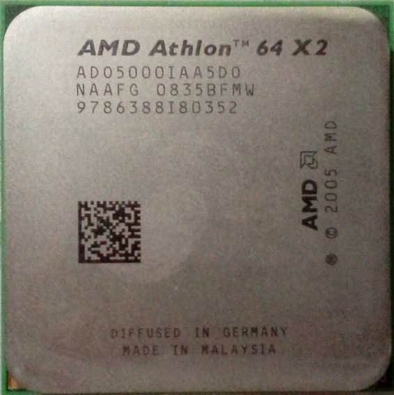 Processador Amd Athlon 64 X2 5000+ (rev.g2,do) Ado5000iaa5do