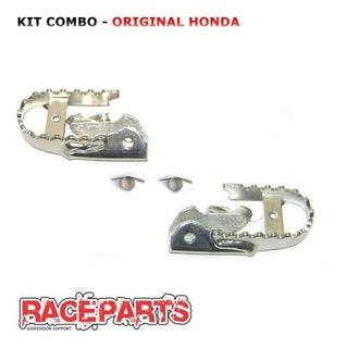Kit Pedaleiras Originais Honda Crf230 Mola Pedaleira