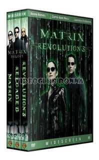 Matrix Trilogia Pack Saga Completa Dvd Colección Peliculas