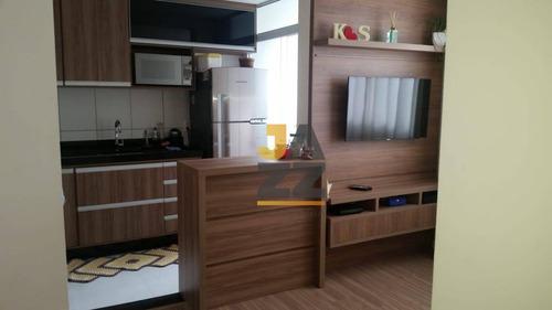 Apartamento Com 2 Dormitórios À Venda, 48 M² Por R$ 296.800,00 - Parque Das Constelações - Campinas/sp - Ap7130