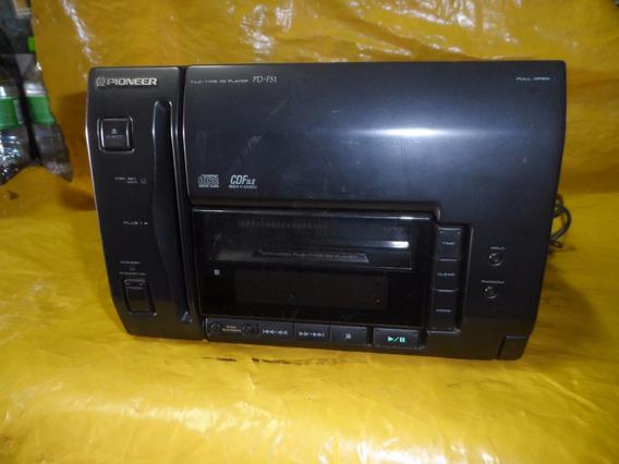 Cd-player Pioneer Pd-f51 - 50+1 Cd - P/ Som Modular Em Casa.