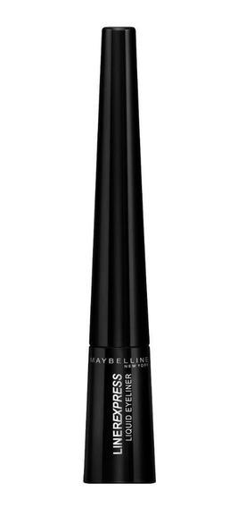 Delineador Líquido Liner Express Maybelline Black 2,4ml