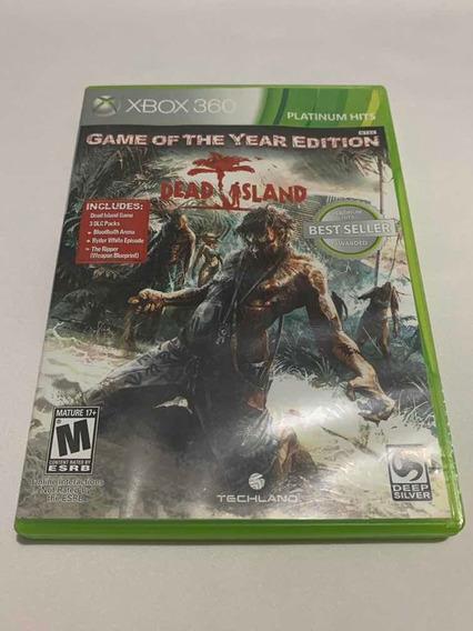 Dead Island Xbox 360 Jogo Original Mídia Física Game Top