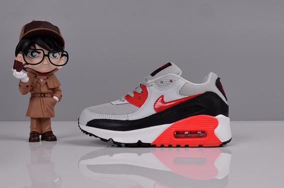 Zapatillas Nike Air Max 90 Guinda Ninos Zapatillas en