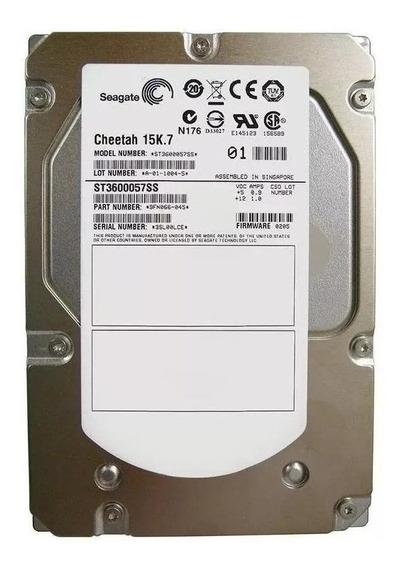 Disco rígido interno Seagate Cheetah 15K.7 ST3600057SS 600GB prata