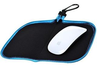Bcp Color Negro Multifuncional Bolsa De Almacenamiento Mouse