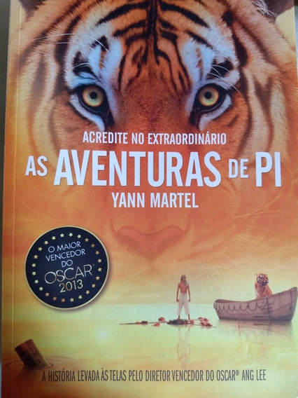 Livro As Aventuras De Pi