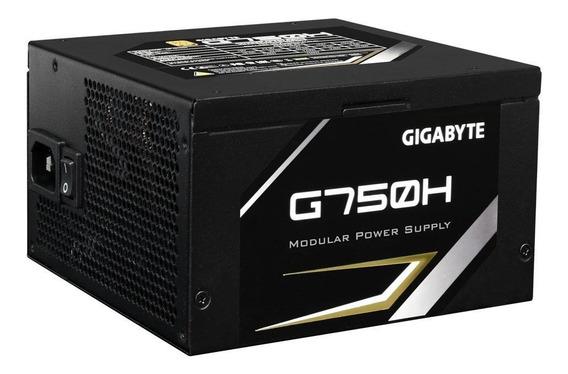 Fonte Gigabyte 750w 80 Plus Gold Modular - G750h