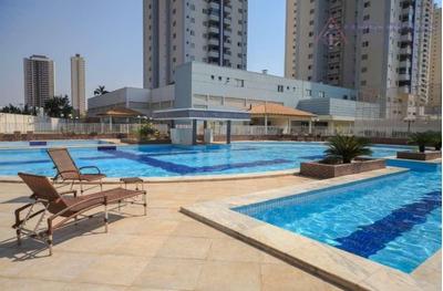 Apartamento Residencial Sol Da Manhã À Venda, Ed Parque Pantanal Iii, Jardim Aclimação, Cuiabá. - Ap1202