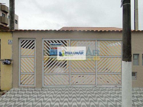Casa Com 3 Dorms, Vila Atlântica, Mongaguá - R$ 350 Mil, Cod: 646100 - V646100