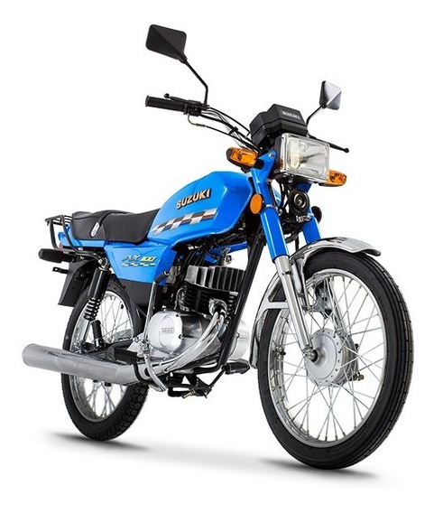 Motocicleta Nueva Suzuki Ax100 2020 Motor 2 Tiempos