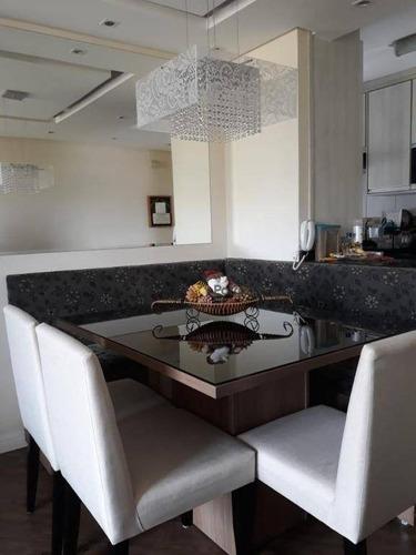 Imagem 1 de 17 de Apartamento Com 2 Dormitórios À Venda, 50 M² Por R$ 300.000,00 - Vila Gonçalves - São Bernardo Do Campo/sp - Ap3073