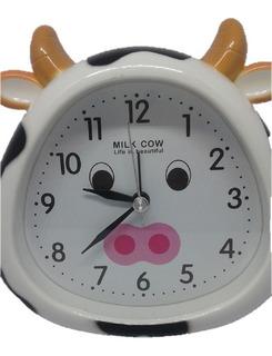 Reloj Mesa Diseño Vaquita Para Cocina,. Entrega Inmediata!!