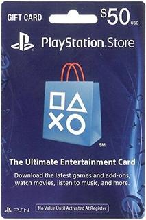 Tarjeta Psn Card 50 Usd Usa Codigo Soy Gamer Berazategui