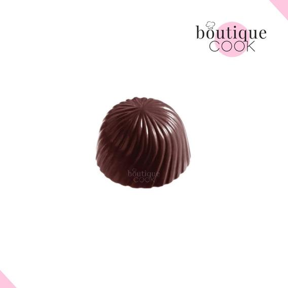 Molde Policarbonato Bombones Rosetta Círculo Boutique Cook