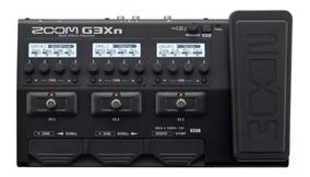 Pedaleira Zoom G3xn + Fonte Original Bivolt/nova Na Caixa