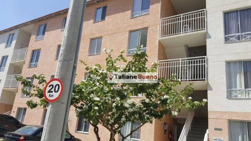Apartamento Com 2 Dormitórios À Venda, 52 M² Por R$ 169.000 - Cidade Jardim - Jacareí/sp - Ap2428
