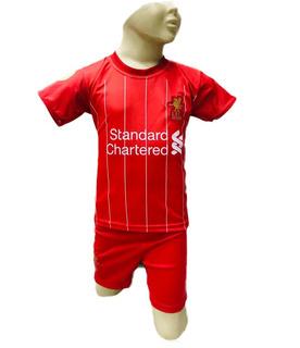 Conjunto Infantil Liverpool Uniforme Firmino