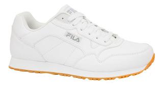Tenis Hombre Fila Cress Casual Blanco Modelo 1sc60512