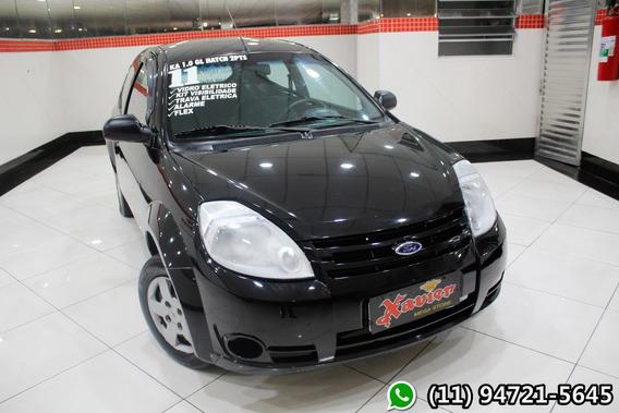 Ford Ka 1.0 2p Flex Preto 2011 Financiamento Próprio 7867