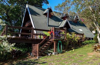 Casa Residencial À Venda, Clube Da Montanha, Atibaia - Ca0238. - Ca0238