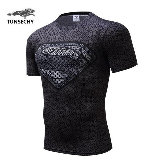 Camisa Super Homem 3d Tunsechy