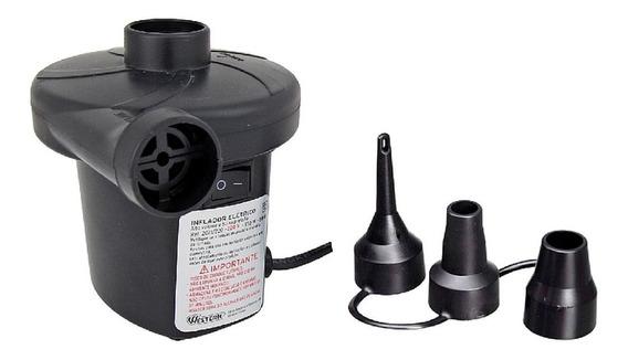 Bomba Ar Elétrica Encher Inflar Colchão Inflável Piscina 220