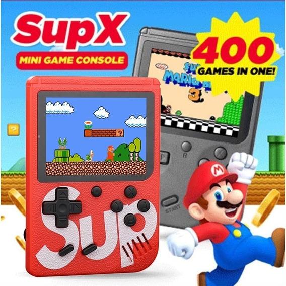 Mini Game Video Portátil Console Nintendo 400 Jogo + Control
