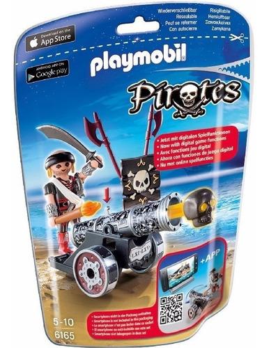 Cañon Negro Interactivo Pirata Playmobil