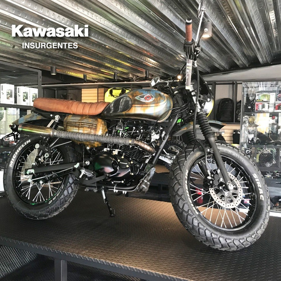 Kawasaki Insurgentes W175 Custom Modificada En Agencia