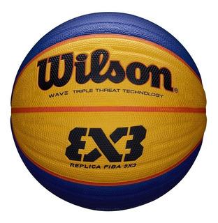 Pelota Basquet Wilson Fiba 3x3 Nro 6 Replica Balón Basket