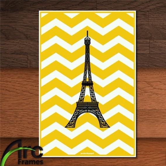 Placa Decorativa Mdf Paris Torre Eiffel Presente Decoração