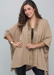 Kimono / Ruana / Abrigo En Hilo / Talla M, L, Xl, 2xl.