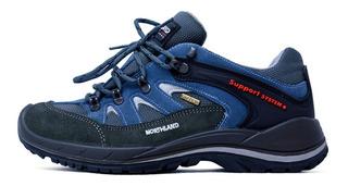 Zapatillas Trekking Northland Scamosciato V25 Impermeables