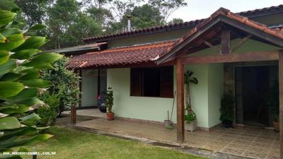 Casa Em Condomínio Para Venda Em Embu-guaçu, Fazenda Da Ilha, 4 Dormitórios, 2 Suítes, 3 Banheiros, 4 Vagas - 7031