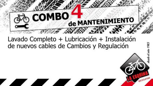 Servicio De Mecánica Para Bicicleta - Combo 4