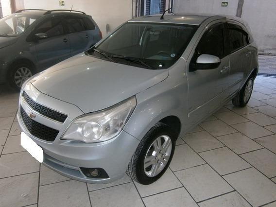Chevrolet Agile Ltz 1.4 Prata 8v Flex 4p