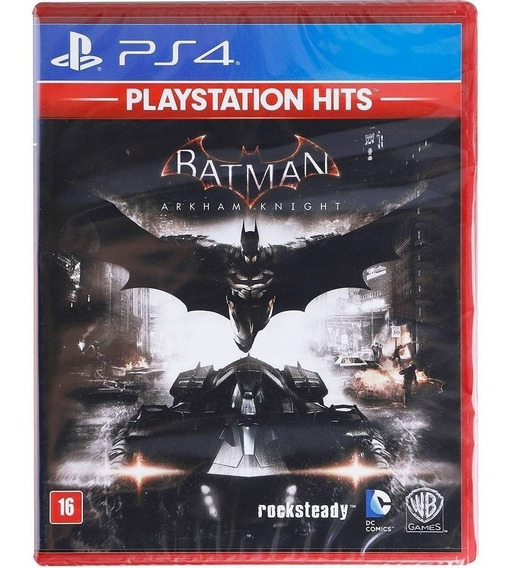 Batman Arkham Knight Ps4 Midia Fisica Original Lacrado