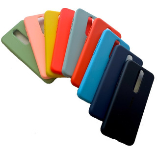 Funda Silicona Case Nokia 3.1 Plus / Nokia 5.1 Plus + Glass