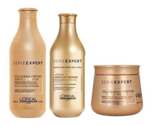 Loreal Shampoo Absolut Repair Enjuague Mascara Capilar