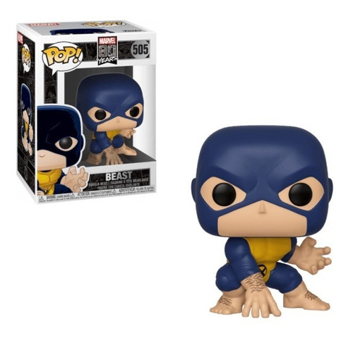 Funko Pop - Marvel 80 Años: Beast First Appearance #505