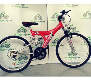 Bicicleta Doble Suspensión Kelinbike Rodado 24