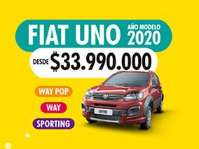 Fiat Uno Way Pop 1.4 2020