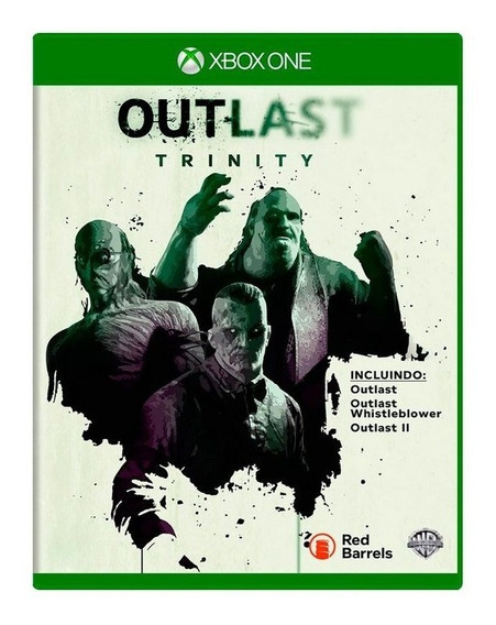 Outlast Trinity X Box One Original Semi Novo Midia Fisica