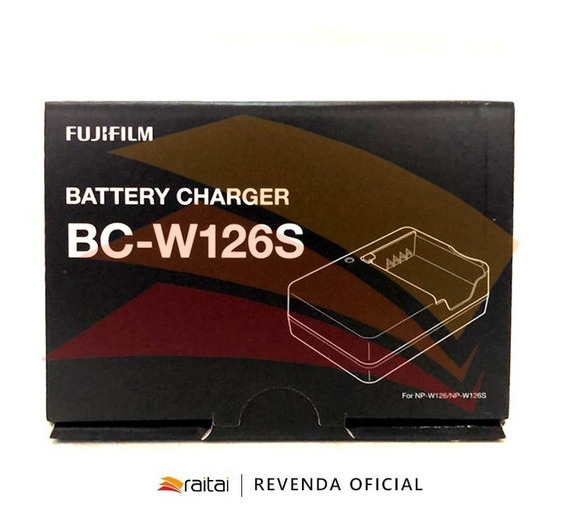 Fujifilm Bc-w126s Battery Charger/ Carregasor Original Fuji