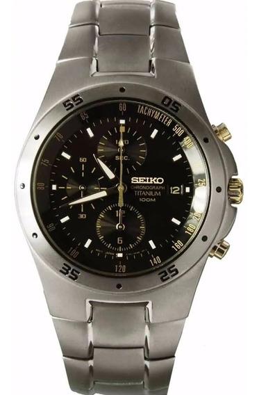 Relógio Seiko Chronograph Titanium Snd451p1 Taquímetro